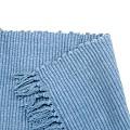 Carpet Runners Blue 100% Cotton Prairy Style Rug Runner 30 x 96