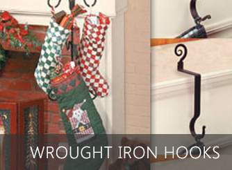 Wrought iron hooks