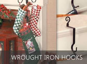 Wrought iron hooks